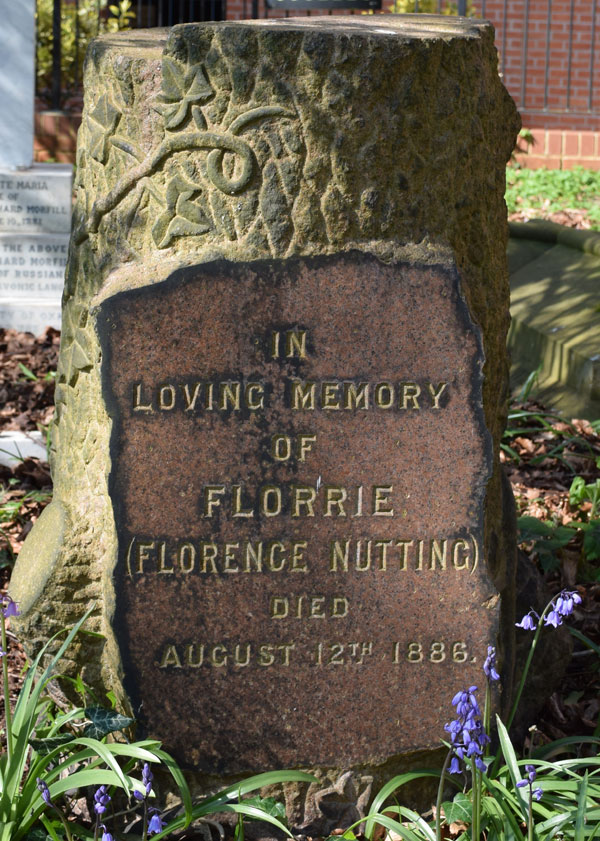 Grave of Florence Nutting