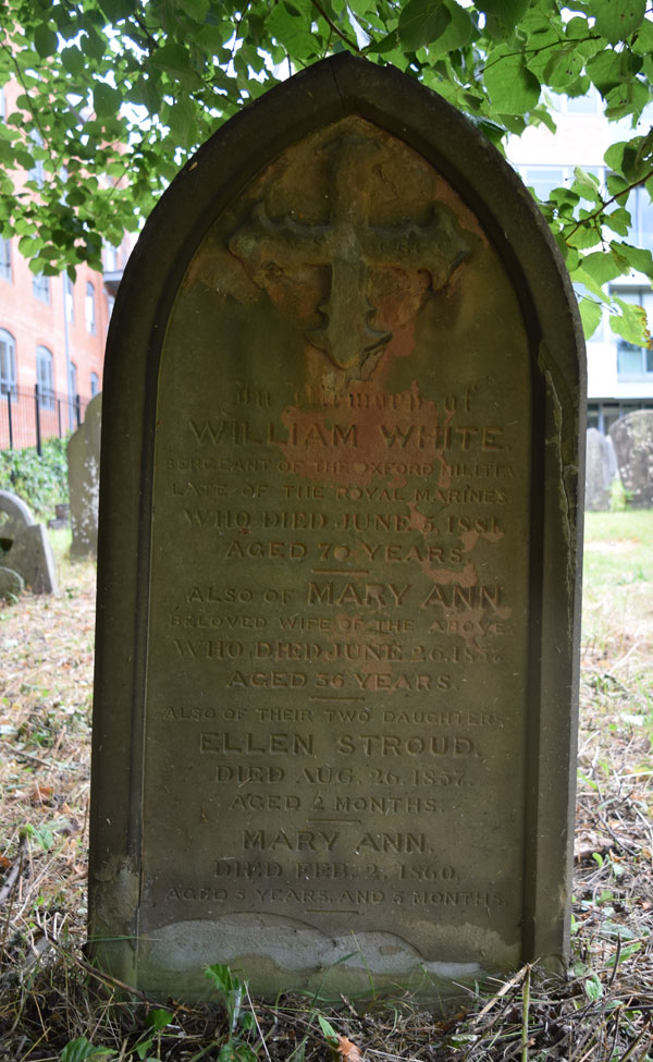 William White grave